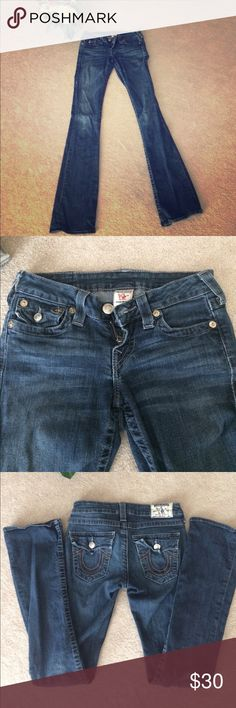 True Religion Size 25 Well taken care of True Religion Jeans size 25 High-Rise Boot style. RN#: 112790 CA#: 30427 True Religion Jeans Boot Cut