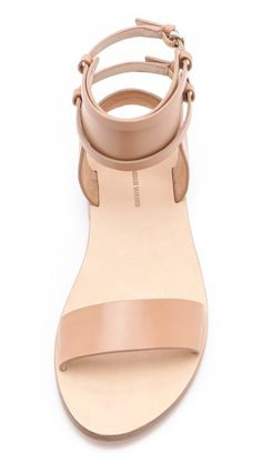 Nude & strappy, totally there, but not.