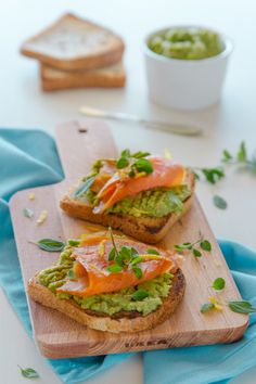 Avocado Recipes, Healthy Recipes, Healthy Food, Smoked Salmon Sandwich, Brunch, Sandwiches, Light Recipes, Food Plating, Food Photo