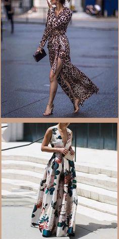 Fashion Dress – My Style – Elegant Evening Dresses, Long Dresses, Maxi Dresses, Skirt Fashion, Fashion Dresses, Cooler Stil, Elegant Maxi Dress, Animal Print Outfits, Frack
