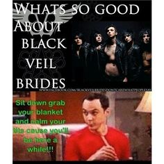 Yep Black veil brides ❤ liked on Polyvore featuring accessories, black veil brides, bvb and bands