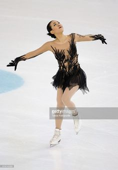 Mao Asada of Japan competes in the ladies short program at 2016 Progressive Skate America on October 21, 2016 in Chicago, Illinois.
