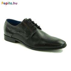 Bugatti férfi alkalmi cipő, természetes bőr felsőrésszel, trendi perforált díszítéssel, fekete színben. A belsőrész is bőrrel bélelt..Alkalmi viseletre, és sportosan elegáns öltözethez ajánlott. Méret:41 Bugatti, Men Dress, Dress Shoes, Derby, Oxford Shoes, Lace Up, Modern, Products, Fashion