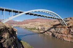 Hite Crossing Bridge, Utah, VS