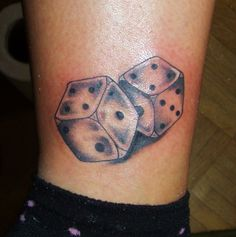dice tattoo by D3adFrog.deviantart.com on @deviantART