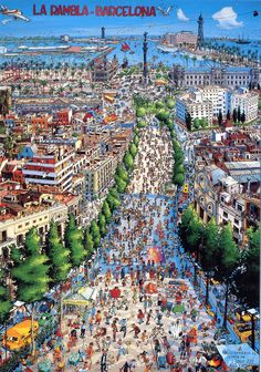 La Rambla 2, Barcelona (For Trade) | por jordipostales