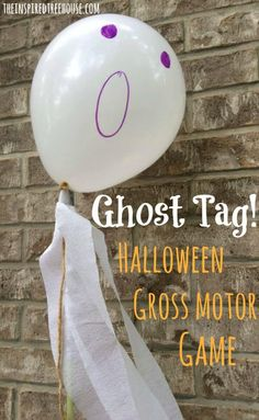 A new twist on a game of tag -- don't let your friends steal the tails of your ghost! A great fall and halloween game for kids. -- Brought to you by Baja Mamas Party Potions - Tucson AZ Halloween Theme Birthday, Halloween Class Party, Halloween Tags, Holidays Halloween, Kindergarten Halloween Party, Halloween 2020, Scary Halloween, Halloween Crafts, Halloween Ideas