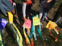 Construction Paper Kites