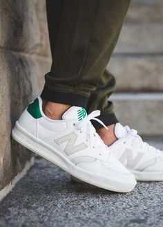 brand new 961d7 4736f New Balance CRT300DK White Running Shoes For Men, Work Sneakers, Leather  Sneakers,