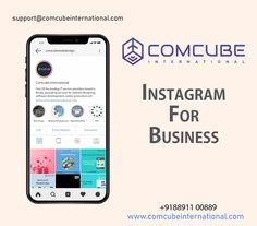 Nine Reasons to Use Instagram for Business.  1. Customers Expect It 2. It's a Trust Signal 3. Your Customers & Users Can Tag You 4. You Can Tag and Sell Your Products 5. Point Back to Your Site 6. Online Reputation Management 7. Your Competitors Are on Instagram 8. Networking 9. You Can Attract Talent  For enquiry, Talk to our Marketing Expert : +918891100889 Email : support@comcubeinternational.com  #comcube #seo #sem #smm #smo #socialmedia #instagram #insta #instaads #instabusiness…