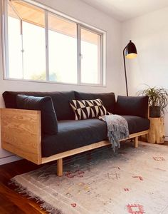 31 Gorgeous Modern Sofa Designs That You Definitely Like - The modern sofa designs beat their traditional counterparts in terms of creativity. Because of their importance as an important furniture item for hom. Diy Sofa, Diy Daybed, Plywood Furniture, Sofa Furniture, Furniture Buyers, Apartment Furniture, Rustic Furniture, Luxury Furniture, Modern Furniture