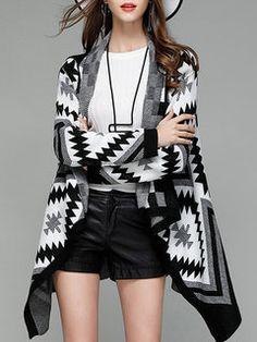 Donna Maglioni Casual Basic Outerwear Autunno Ragazza Invernali Teschio Pattern Rotondo Collo Manica Lunga Cardigan Abbigliamento Moda Giovane Maglieria Pullover