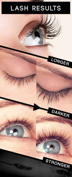 Beautiful long lashes for summer.