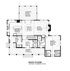 Planos de casas  Planos de planta and Planes casa de campo on    Farmhouse Style House Plan   Beds   Baths Sq Ft Plan