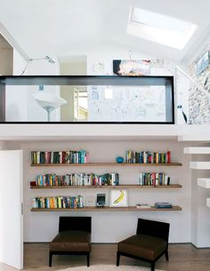 my scandinavian home: Cool and contemporary in Chianti. Shelving.