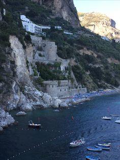Il Saraceno hotel, Amalfi. Wow
