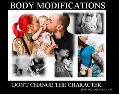 Opinions on Body Mods in the Workplace?