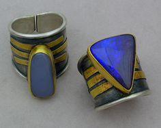 opal rings by Patricia McCleery