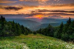 Snowshoe Mountain Sunset © Ed  Heaton