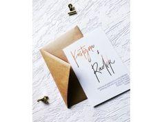 Svatební oznámení - bridetobe.cz Place Cards, Place Card Holders