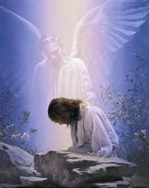 Kimberly Marooney We are all cradled in the supportive and protective care of guardian angels. Our guardian angels are messengers from God, sent to guide us as we make our way through life. Angel Garden, Image Jesus, Your Guardian Angel, Angels Among Us, Jesus Pictures, Son Of God, Christian Art, Holy Spirit, Illustrations