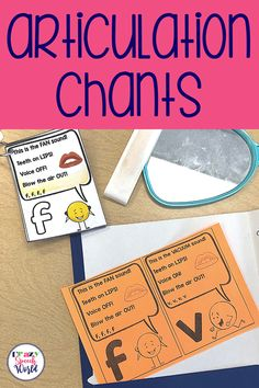 Articulation therapy doesn't have to be B-O-R-I-N-G! These articulation chants are a perfect tool to engage your students in learning phoneme placement and voicing for their sounds.