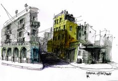 ¡Hola Cuba! A selection of sketches from Flickr | Urban Sketchers