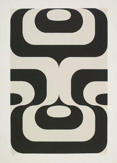 Manuel Barbadillo, screenprint on paper, 1972