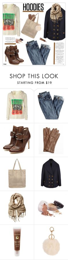"""""""Winter Layering: Hot Hoodies"""" by marion-fashionista-diva-miller ❤ liked on Polyvore featuring Billabong, J.Crew, Falcon Enamelware, Portolano, Siste's, Burberry, Love Quotes Scarves, Twenty, Laura Mercier and Lancôme"""
