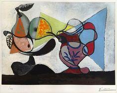 Pablo Picasso - Nature Morte aux Poires et au Pichet, 1960