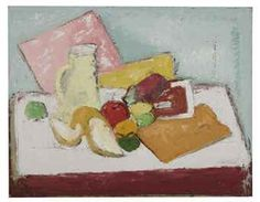 """""""Still Life"""" by Arshille Gorky. no date. Oil on canvas."""