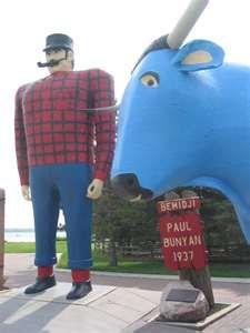 Paul Bunyan and Babe the Blue Ox, Bemidji, MN