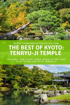 JAPAN TRAVEL TIPS: Struggling to make sense of all the places to visit in Kyoto? Tenryu-ji Temple is one of the best sites in Kyoto that you MUST put on your Japan itinerary.  Here's EVERYTHING you need to know to make the most of your tour. Japan itinerary  |  Kyoto itinerary | solo female travel | Japan travel tips | travel and history #Japantravel #Japanitinerary #Kyotoitinerary #Kyoto #Asia