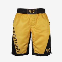 Our Yellow Wrestling Shorts was designed exclusively by MyHOUSE Sports Gear and only available on our online website. With its durability, longevity, style and visual aesthetics, our Fully Sublimated Shorts offer true value for your money. Fight Shorts, Visual Aesthetics, Shorts With Pockets, Bermuda Shorts, Topshop, Money, Website, Yellow, Bermudas