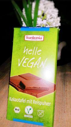 Vegane Küche - vegan kochen ist nicht schwer: Frankonia helle vegane Schokolade
