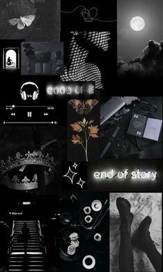 Collage & Black
