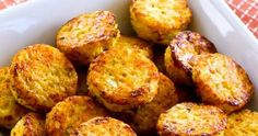 Cheesy Baked Cauiflower Tots Recipe (Low-Carb, Gluten-Free)