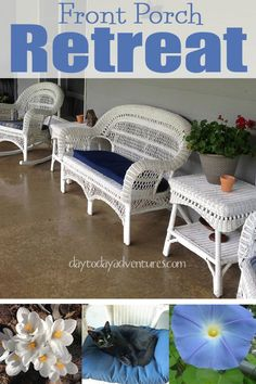 Do you have a favorite place?  Mine is my front porch.  It's my favorite retreat on a hot day. - DaytoDayAdventure...