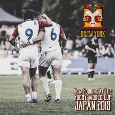 We're super excited to have our beer on the other side of the world pouring at various venues in and around the Rugby World Cup. Are you lucky enough to be there and find some? Get a picture and send it over we'd love to see it!  #RWC #Rugby #York #UK #Beer #Craft #CraftNotCrap #Japan #BrewYork #RugbyWorldCup #RWC2019