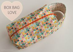 luvinthemommyhood: SEWING || BOX BAG LOVE