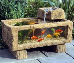 outdoor aquarium #HomeAndGarden