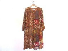 Vintage sheer festival Dress shirt // by dirtybirdiesvintage, $40.00