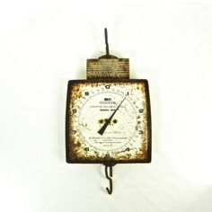 Vintage Hanson Hanging Scale Farmhouse Scale by OldRedHenVintage