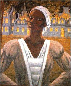 '23 Historical Black Canadians you Should Know', via www.cbc.ca Pictured here is Marie Joseph Angelique, an enslaved Black Canadian woman who was tortured and killed for allegedly burning down Montreal in 1734