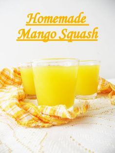 Homemade Mango Squash...no added artificial additives, just pure mango goodness, and so easy to prepare with my step by step tutorial , try it and you will never buy mango squash ever again..