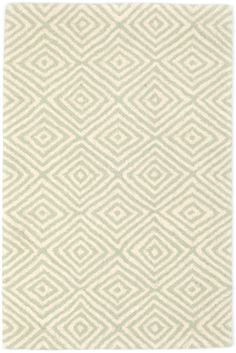 #DashandAlbert Tivoli Ocean Wool Tufted Rug. A lush texture and soft geometric pattern in a seaside-inspired hue make this tufted wool area rug the perfect addition to any comfort-loving home.