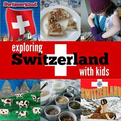 Marie's Pastiche: Exploring Switzerland with Kids | Food, Activities & Art International Day, International Festival, Culture Day, Around The World Theme, Europe Continent, World Thinking Day, Lake Geneva, Preschool Lessons, Creative Kids, Viajes, Switzerland, Scouts, Lucerne