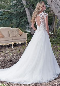 Maggie Sottero Chandler Wedding Dress - The Knot
