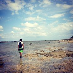 Ishigaki star sand beach, hoshizuna