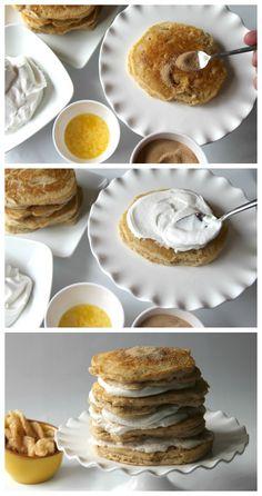 Churro Pancake Cake tastes just like the state fair food favorite!
